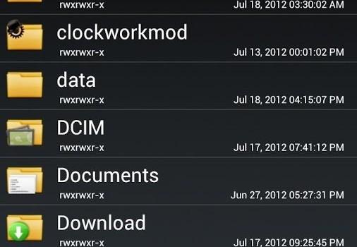 Root Browser Ekran Görüntüleri - 1