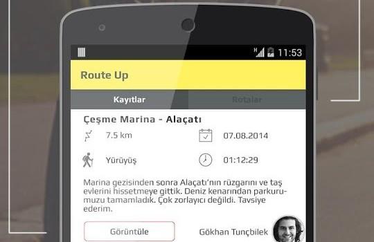 RouteUp Ekran Görüntüleri - 2
