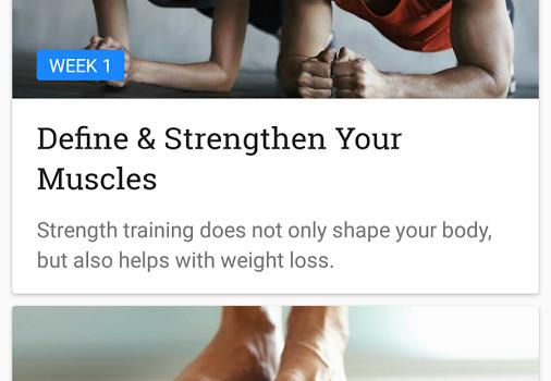 Runtastic Results Training Ekran Görüntüleri - 4