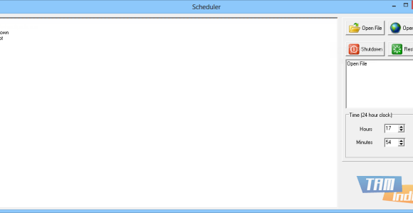 Scheduler Ekran Görüntüleri - 1