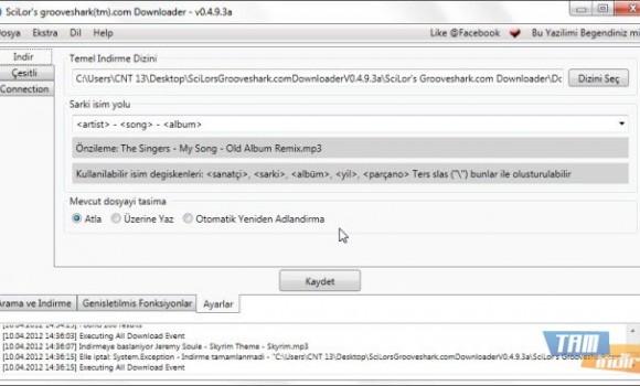 SciLor's Grooveshark Downloader Ekran Görüntüleri - 1