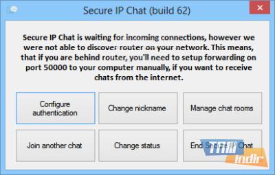 Secure IP Chat Ekran Görüntüleri - 1