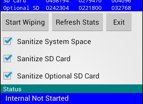 Secure Wipe Ekran Görüntüleri - 1