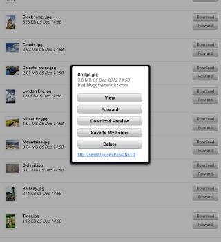 SendItz Ekran Görüntüleri - 2