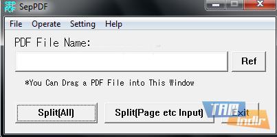SepPDF Ekran Görüntüleri - 2