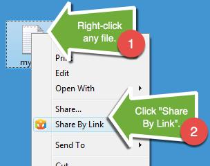 ShareByLink Ekran Görüntüleri - 1