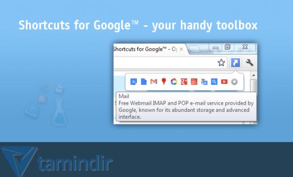 Shortcuts for Google Ekran Görüntüleri - 1