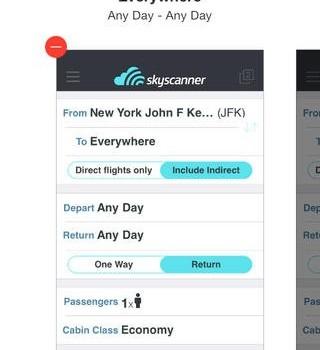 Skyscanner Ekran Görüntüleri - 1