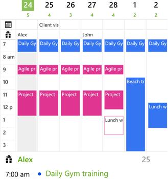 Slate Calendar Ekran Görüntüleri - 2