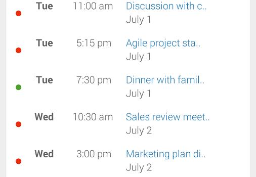 Slate Calendar Ekran Görüntüleri - 3