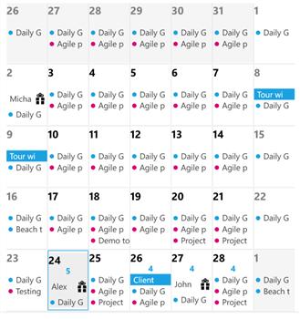 Slate Calendar Ekran Görüntüleri - 4