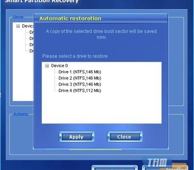 Smart Partition Recovery Ekran Görüntüleri - 1