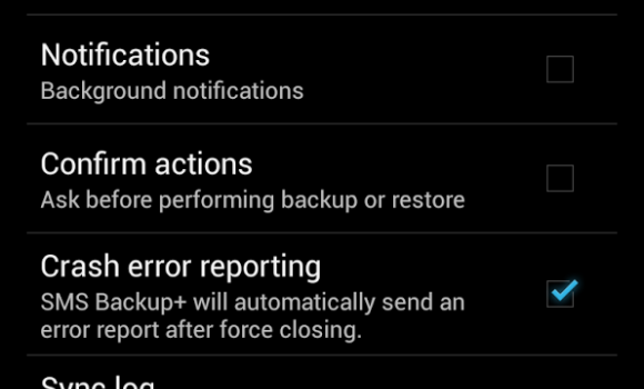 SMS Backup+ Ekran Görüntüleri - 2