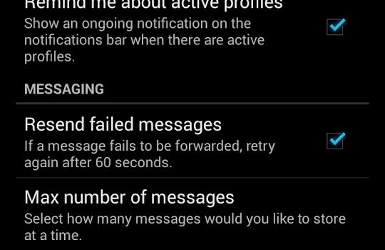 SMS Forwarder Ekran Görüntüleri - 1