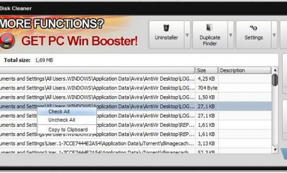 Soft4Boost Disk Cleaner Ekran Görüntüleri - 1