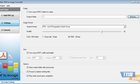 Softdiv PDF to Image Converter Ekran Görüntüleri - 1