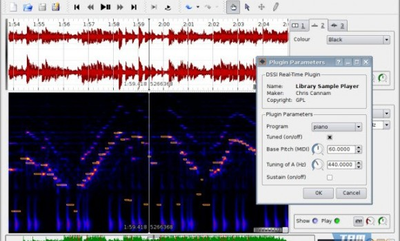 Sonic Visualiser Ekran Görüntüleri - 4