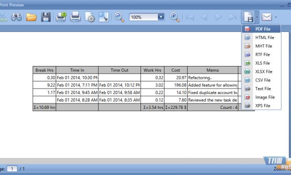 SpiceLogic Work Time Tracker Ekran Görüntüleri - 3