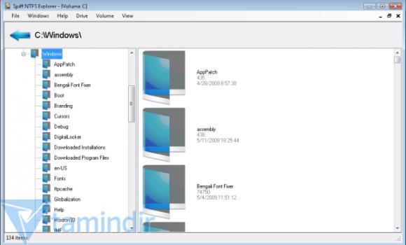 Spiff NTFS Explorer Ekran Görüntüleri - 2
