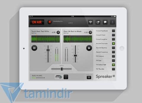 Spreaker DJ Ekran Görüntüleri - 1