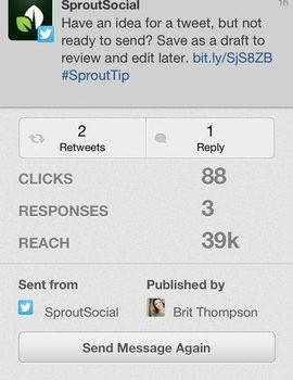 Sprout Social Ekran Görüntüleri - 2