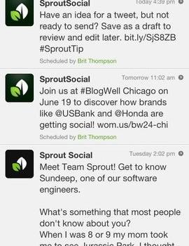 Sprout Social Ekran Görüntüleri - 3