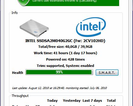 SSDlife Free Ekran Görüntüleri - 1