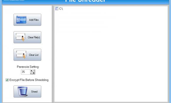 SSuite File Shredder Ekran Görüntüleri - 1