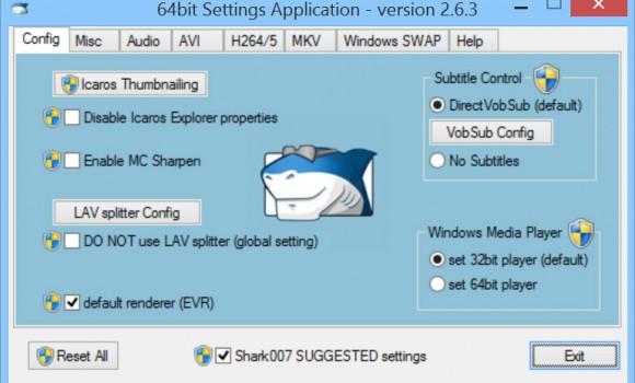 STANDARD Codecs for Windows 7/8/10 Ekran Görüntüleri - 1