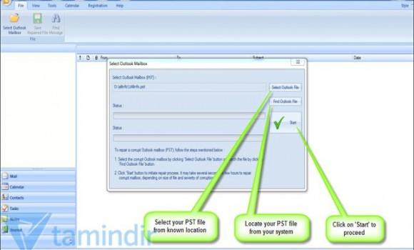 Stellar Phoenix Outlook PST Repair Software Ekran Görüntüleri - 5