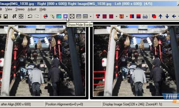 StereoPhoto Maker Ekran Görüntüleri - 3