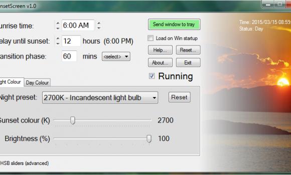 SunsetScreen Ekran Görüntüleri - 1