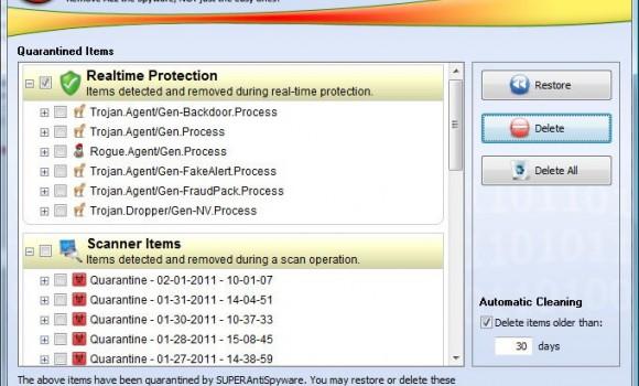 SUPERAntiSpyware Tech Edition Ekran Görüntüleri - 4