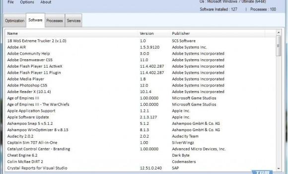 Sys Optimizer Ekran Görüntüleri - 2