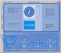 Talking Desktop Clock Ekran Görüntüleri - 5