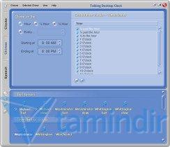 Talking Desktop Clock Ekran Görüntüleri - 4
