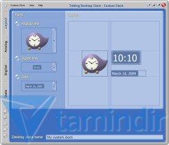 Talking Desktop Clock Ekran Görüntüleri - 1