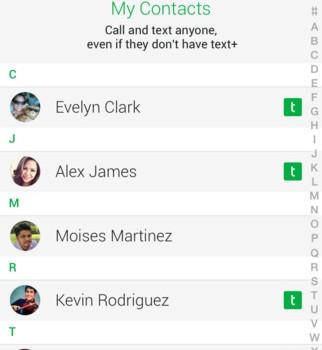 textPlus Ekran Görüntüleri - 1
