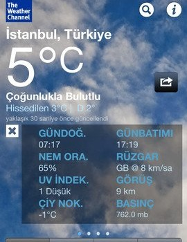The Weather Channel Ekran Görüntüleri - 3