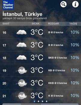 The Weather Channel Ekran Görüntüleri - 2