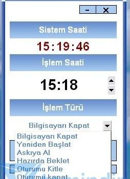 Timewatch Bilgisayar Kapatıcı Ekran Görüntüleri - 2