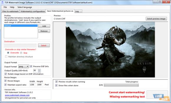 TSR Watermark Image Software Ekran Görüntüleri - 3