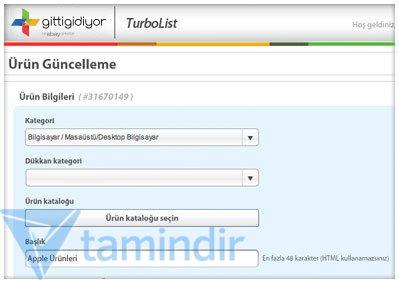 TurboList Ekran Görüntüleri - 3