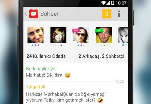 Turk Chat Ekran Görüntüleri - 1