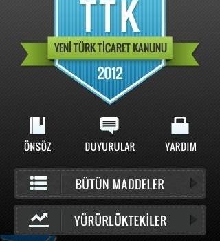 Türk Ticaret Kanunu - Yeni TTK Ekran Görüntüleri - 3