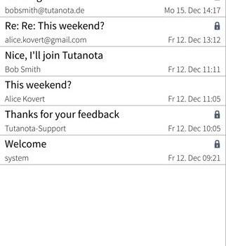 Tutanota Ekran Görüntüleri - 5