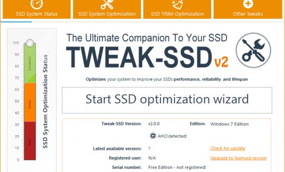 Tweak-SSD Ekran Görüntüleri - 1