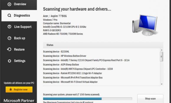TweakBit Driver Updater Ekran Görüntüleri - 2