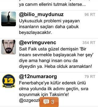 TwitTurk Ekran Görüntüleri - 3