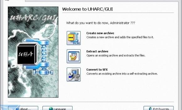 UHARC/GUI Ekran Görüntüleri - 1